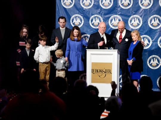Robert Mills won the State Senate race against Ryan Gatti Saturday November 16, 2019.