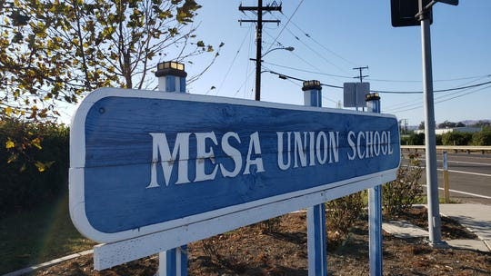 Mesa Union School in Somis was one of several campuses in Ventura County to close during the public safety power shut-offs by Southern California Edison.