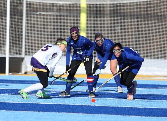 Bronxville won their New York State Class C field hockey championship game against Johnstown at Alden High School.  Final score was 1-0, Bronxville.