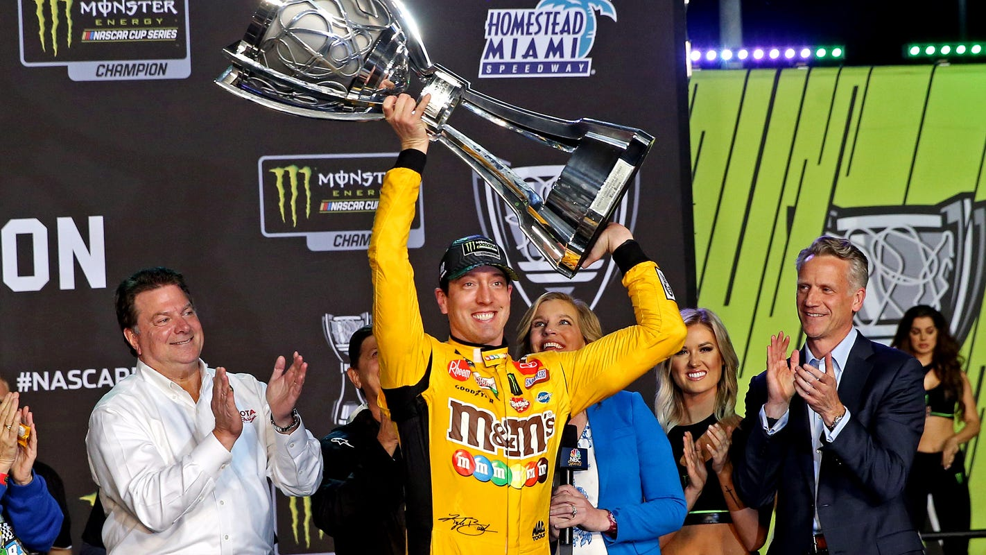 Kyle Busch snaps long winless streak to claim second NASCAR Cup championship