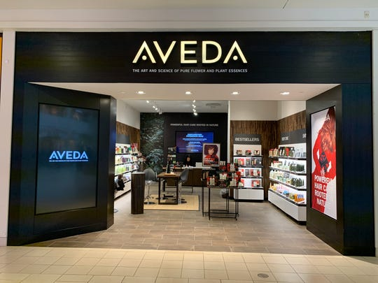 Aveda has opened a store at the Freehold Raceway Mall.