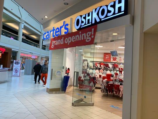 Carter's/OshKosh has opened at Freehold Raceway Mall.