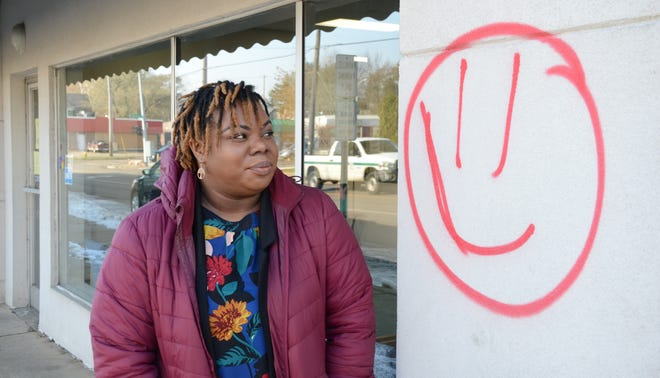 Alisa Parker, managing attorney at the Legal Services of South Central Michigan, said the building on Territorial Road has been tagged twice.