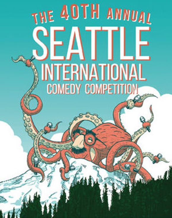 The Seattle International Comedy Competion stands up in Bainbridge Island Nov. 23 and Bremerton Nov. 30.