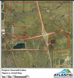 A Tampa Bay developer seeks a 10-year permit to fill almost 102 acres of wetlands in southwest Palm Bay to build Emerald Lakes