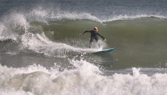 This weekend brought some cold weather to the Space Coast from the arctic blast, but it also brought some big waves.Surfers were out Monday south of the Cocoa Beach Pier taking advantage if the overhead swells.