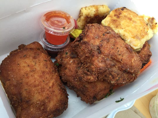 Canteen Creemee Co. in Waitsfield is named for Vermont's signature ice cream but also offers fried-chicken dinners.