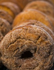 Homemade cider donuts at The Cupboard Deli & Bakery off Vermont 15 in Jeffersonville.
