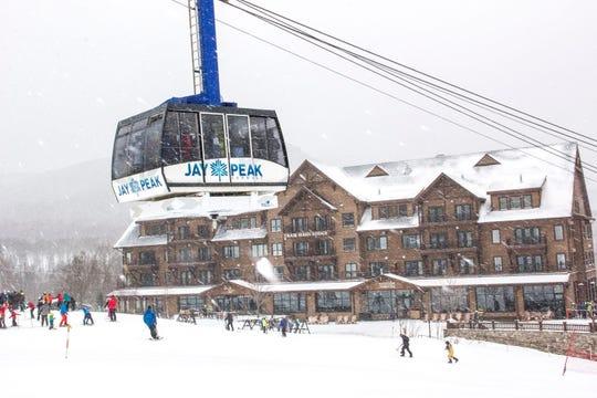 Jay Peak resort, seen in February 2017.