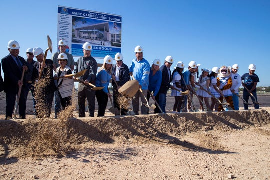 A groundbreaking for the new Carroll High School was held on Monday, November 2019. The school is scheduled to open in August 2022.