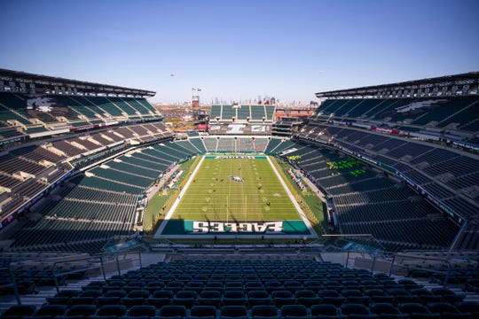 The conclusion of the Camden-Pleasantville football game will be played at Lincoln Financial Field on Wednesday.