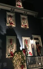 A federal-style home built in 1850 was part of Burlington's 2018 holiday house tour.