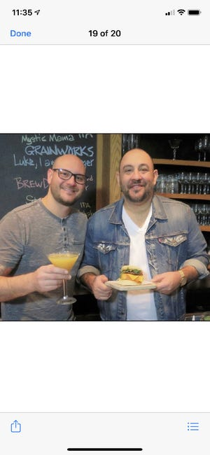 Neil and Paul Barraco are opening the Governor Modern Diner in Milford.