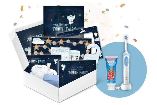 "P&G's Oral-B and Crest Launch ""Tooth Fairy in a Box"""