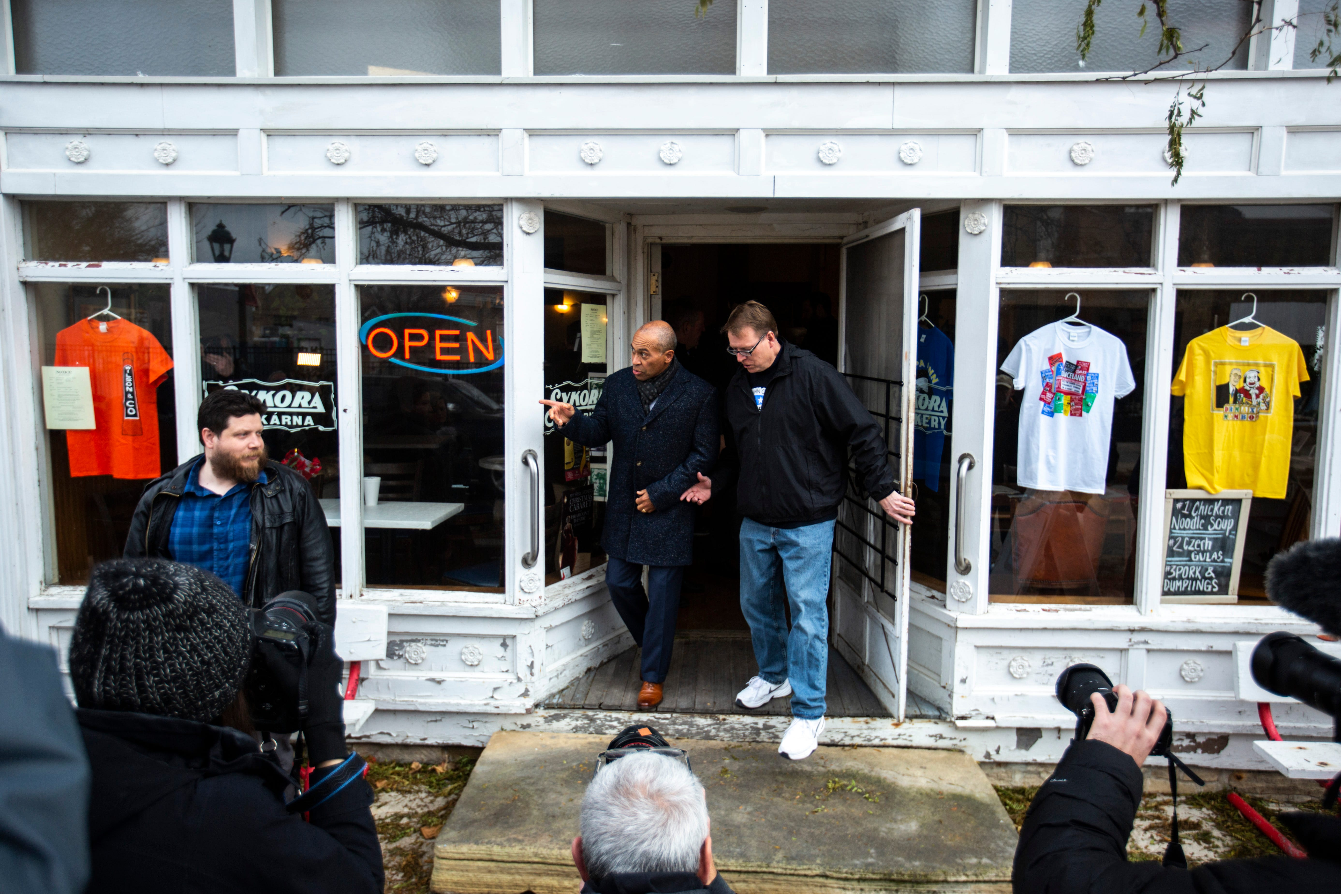 Photos: Presidential candidate Deval Patrick makes first stop of candidacy in Iowa