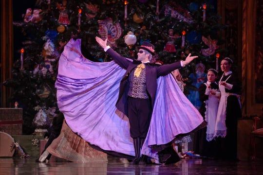 Michigan Opera Theatre will present BalletMet's The Nutcracker Nov. 30 – Dec. 1 at the Detroit Opera House.