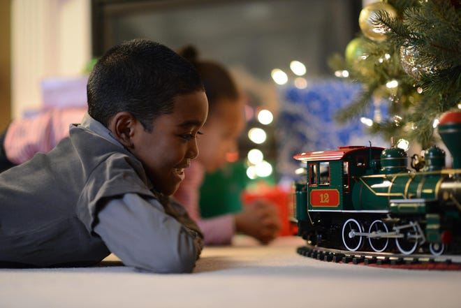 Toy trains are one of the most popular gifts sold at Whistle Stop Hobby & Toy.