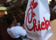 Chick-fil-A has about 2,400 locations, mainly in the U.S.