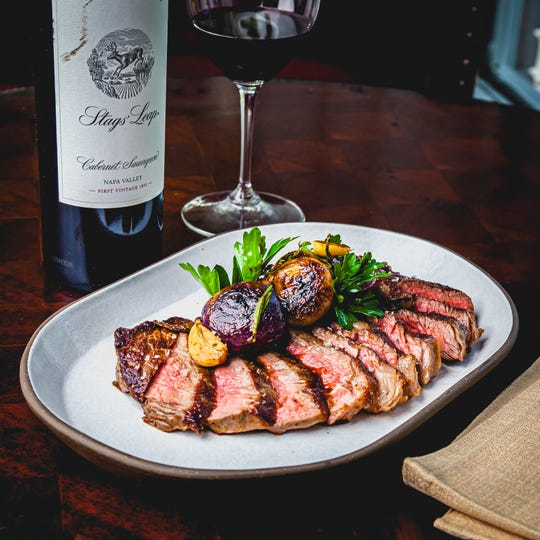 Snake River Falls ribeye steak will be on the menu at the forthcoming Highlands Steakhouse atop the GM Renaissance Center in Detroit.