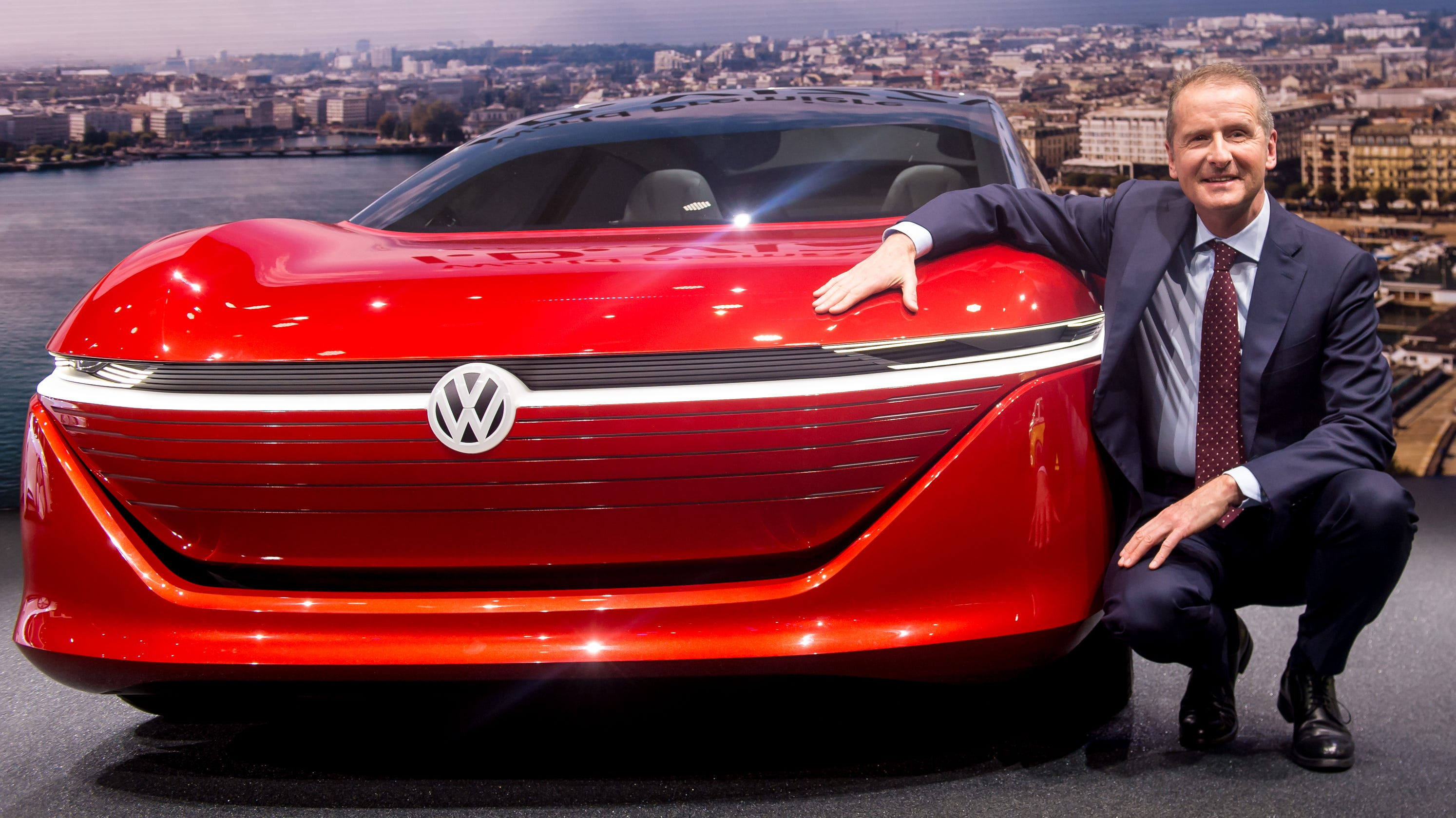 VW's CEO says Germany would be better home for Tesla car ...