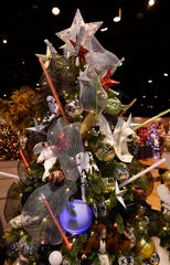 A Star Wars-themed tree brings the force to a previous Festival of Trees in Dearborn.