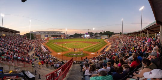 The SeaWolves play their home games at UPMC Park in Erie.