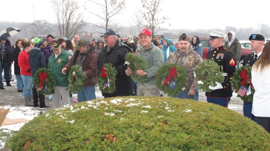 A Wreath Across America Ceremony is planned for December 14 in Ottawa County.