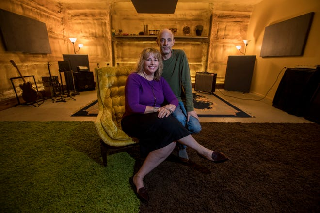 Lainie and Howard Wulkan operate Farmadelica Sound studios in Bokeelia, FL.