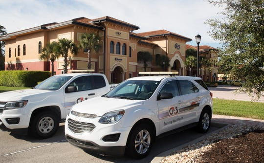 The G4S security offices are located in south Fort Myers.