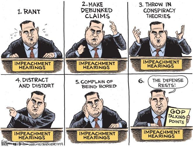 GOP's strategy vs. impeachment.