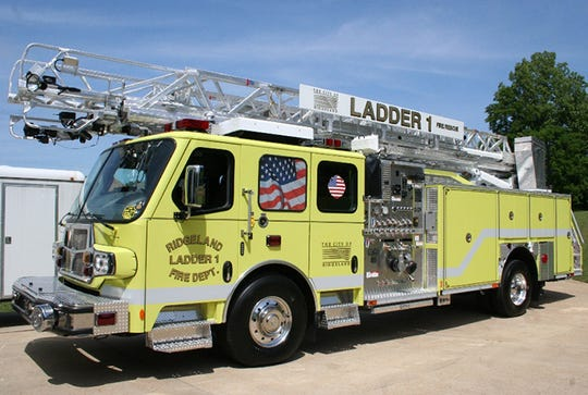 A City of Ridgeland fire truck is shown in this file photo.