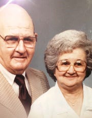 Oceola Township woman Maureen Borener-Walker has devoted a lot of time and energy over the years to taking care of her late father Clarence Borener and 94-year-old mother Rita Borener, shown in this family photograph.