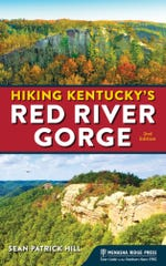 """""""Hiking Kentucky's Red River Gorge"""" (2nd Edition) by Sean Patrick Hill"""