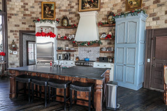 The kitchen has been completely renovated at Roundhouse Farm.November 11, 2019