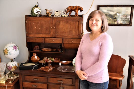 Amy McDonald is the owner of Blue Light Estate Sales and More, located at 1112 Mount Vernon Avenue in Marion. McDonald said the business will specialize in estate liquidations, but will also sell handmade items that she has produced. The store is open from 10 a.m. to 5 p.m. Monday through Saturday.