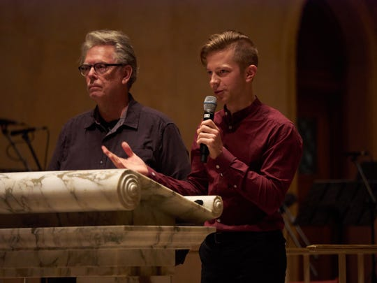 Present Music co-artistic directors Eric Segnitz and David Bloom will lead a free online concert May 22.