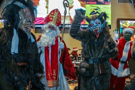 The third annual Milwaukee Krampusnacht runs from 4 to 10 p.m. Dec. 5 at The Bavarian Bierhaus in Glendale.