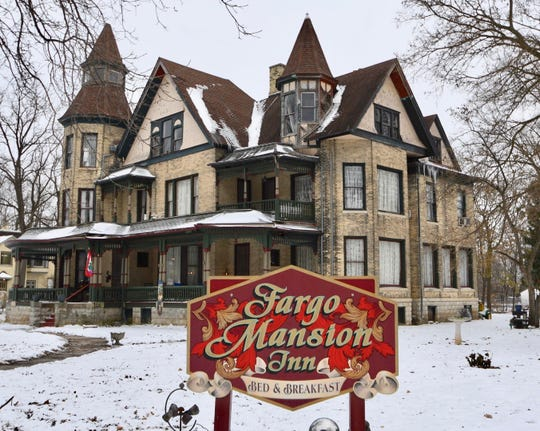 E.J. Fargo, a descendant of the founder of Wells Fargo, bought this mansion in Lake Mills two years after it was built in 1881. Tom Boycks and his partner, Barry Luce, bought the mansion in 1985 and turned it into the Fargo Mansion Inn.