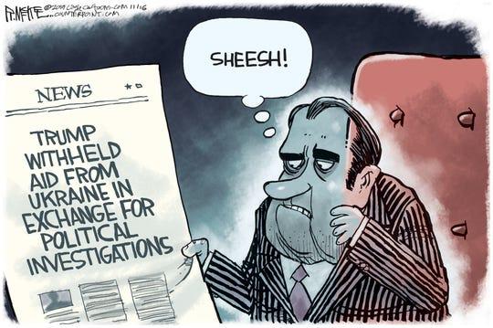 Ukraine aid issue shocks Nixon.