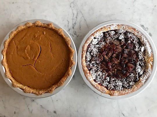 Pumpkin Pie and Pecan Pie