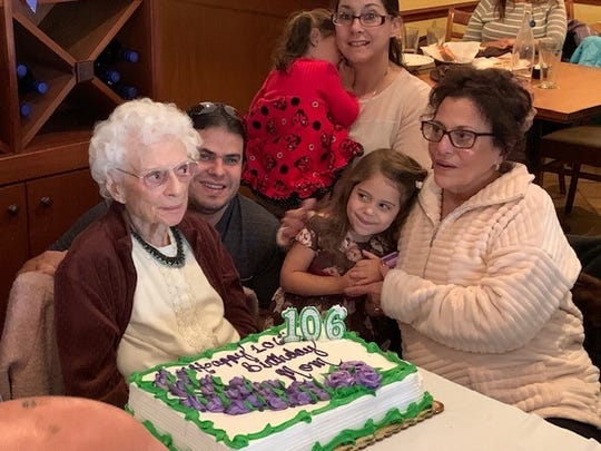 Josephine D'Andrea, a life-long Palisades Park resident, turned 106 on Nov. 16.