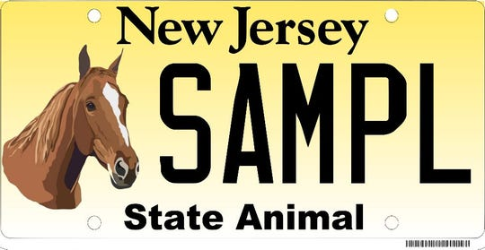 A horse license plate would commemorate the state animal and its well-being, as well as programs using horses for therapy.