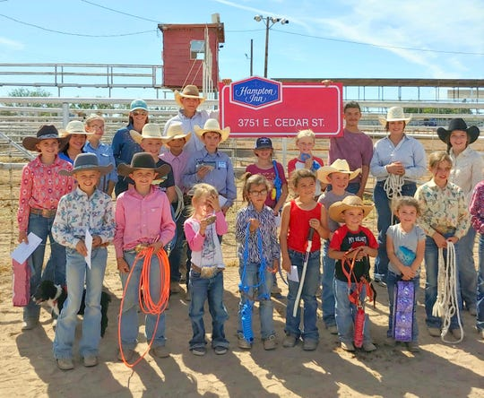 At least 35 junior rodeo riders competed during the Southwestern New Mexico State Fair held in October in Deming, NM