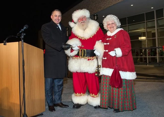 Mayor William Wild will welcome Santa and Mrs. Claus to Westland on Dec. 9