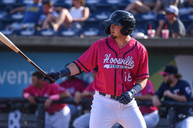 Minnesota Twins prospect Ryan Costello played 40 games with the Pensacola Blue Wahoos in 2019. He died Monday in New Zealand.