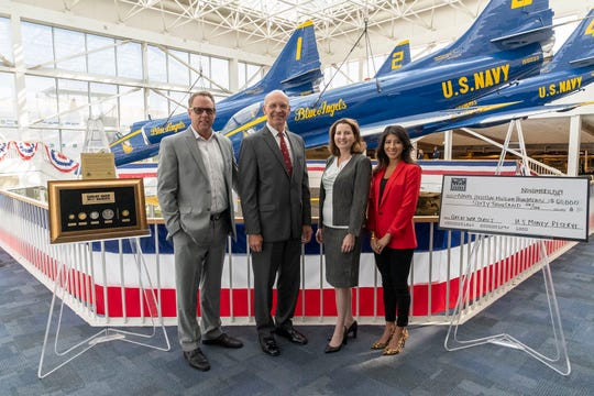 The U.S. Money Reserve donated $60,000 and a Commemorative Coin Series to the Naval Aviation Museum Foundation.