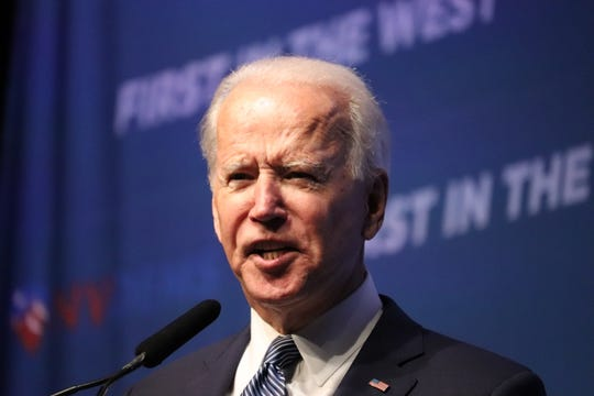 Former Vice President Joe Biden pitched himself as the candidate with the experience to defeat Donald Trump in 2020.