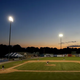 The sun sets over Dwyer Stadium in Batavia during the home opener last year of the Batavia Muckdogs as they take on the State College Spikes.