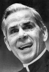 Bishop Fulton Sheen in 1974, after he had left Rochester.