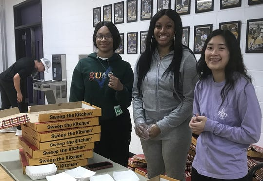 Pizza was the order of the day Monday at the The Dock at LSUS for the Fourth Annual Champions of Character game.